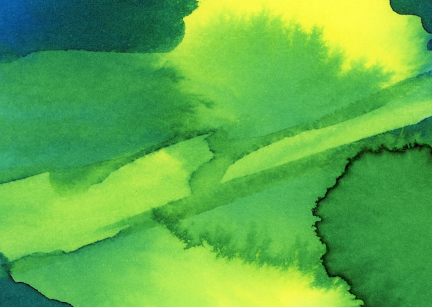 Kalte aquarellflecken