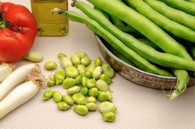 Kalte bohnensalat zutaten