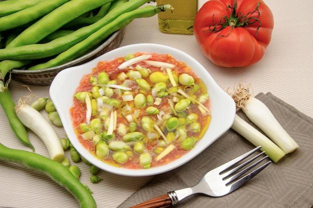 Kalter bohnensalat