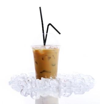 Kaltes kaffeegetränk