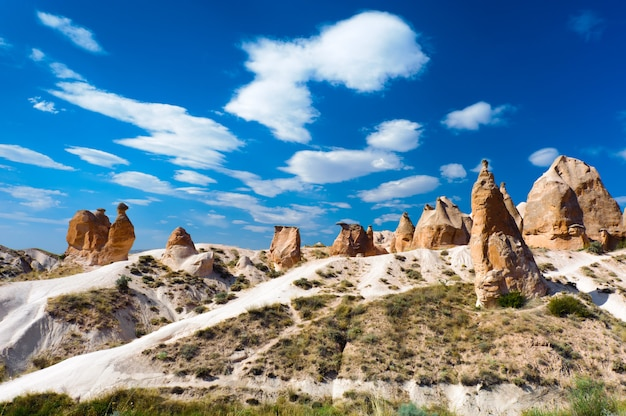 Kamelfelsen, cappadocia, die türkei