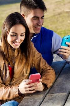 Kamera universität smartphone herbst lieben