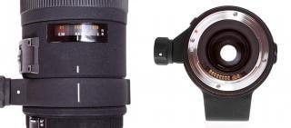 Kameraobjektiv projektion