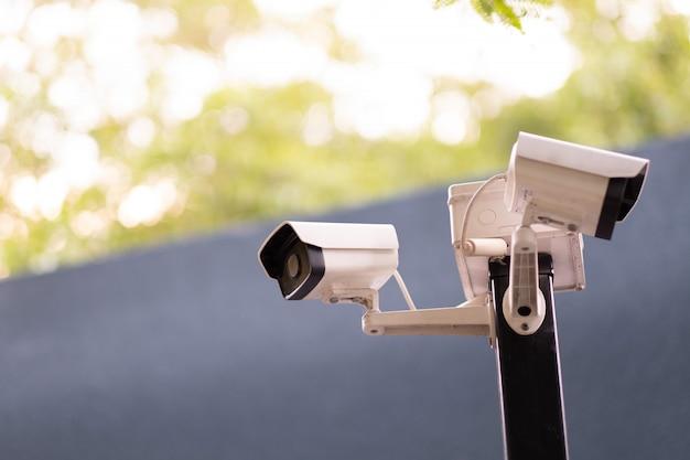 Kamerasicherheit, cctv, sicherheit geht vor