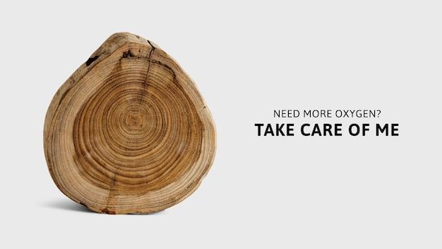 Kampagne zur wiederaufforstung des umweltbewusstseins