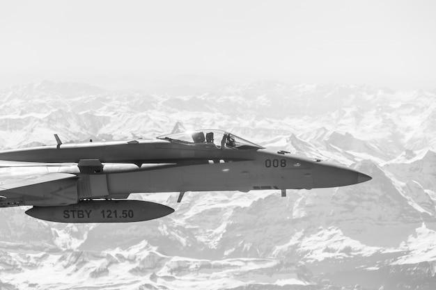 Kampfjet im kampfeinsatz