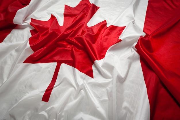 Kanada wehende flagge