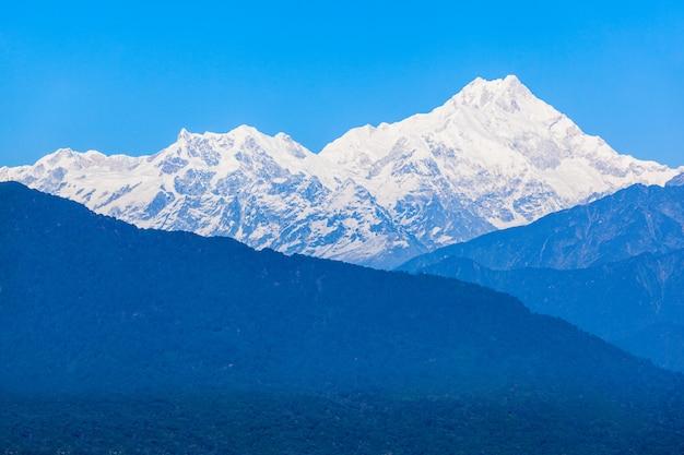 Kangchenjunga-ansicht, gangtok