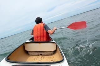 Kanu paddeln