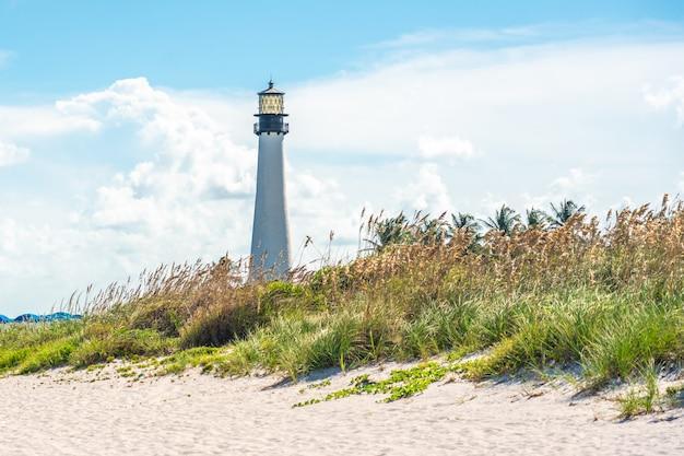 Kap-florida-leuchtturm, key biscayne, miami, florida, usa