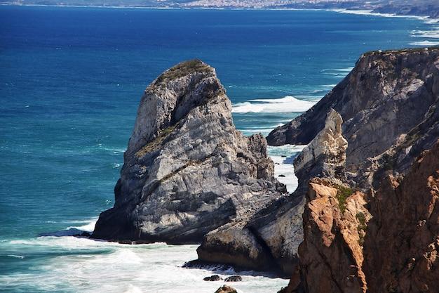 Kap roca auf atlantik, portugal