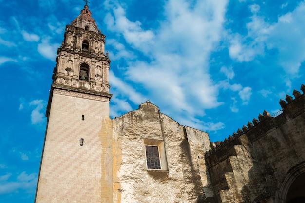 Kapelle santa maria, römisch-katholische kirche der diözese cuernavaca, gelegen in der stadt cuernavaca, morelos