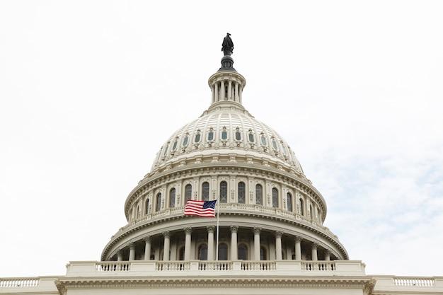 Kapitol-gebäude vereinigter staaten im washington dc, kongress usa.united states