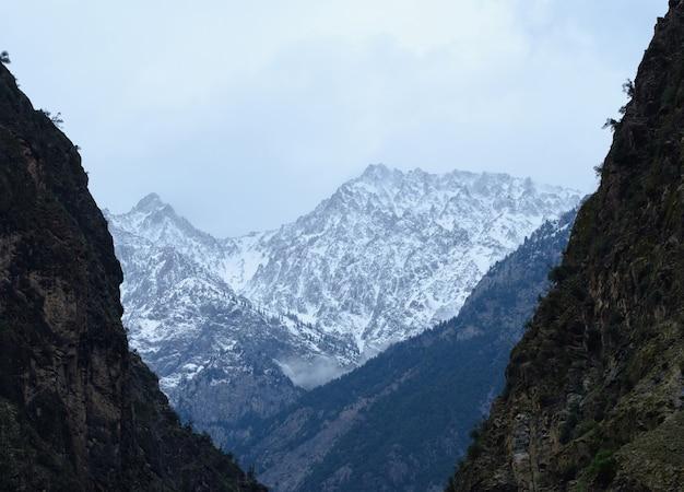 Karakorum-autobahn in pakistan