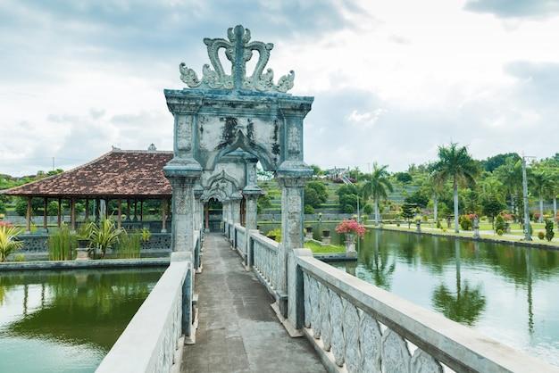 Karangasem wasser tempel palast in bali