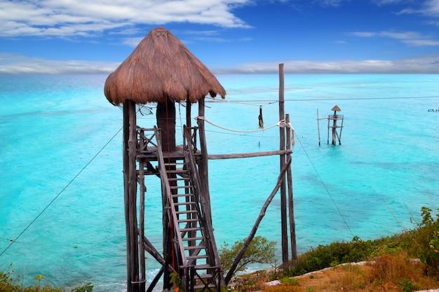 Karibische zip line tiroler türkismeer