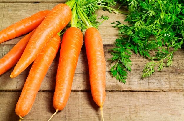 Karotten haufen