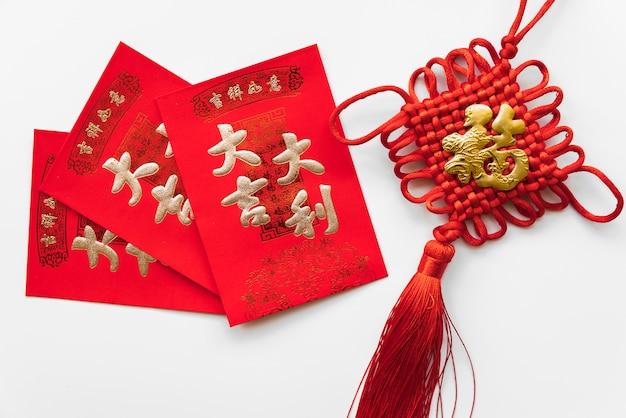 Karten für chinesisches neues jahr