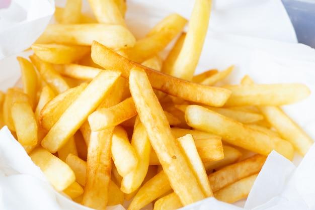 Kartoffel. pommes frittes.