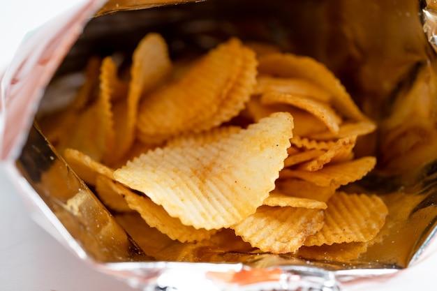 Kartoffelchips leckeres bbq-gewürz scharf für crips