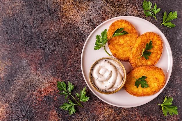 Kartoffelpuffer, rösti