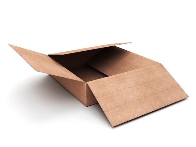 Karton isoliert