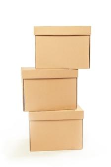 Kartons isoliert