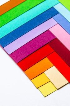 Kartons von farben
