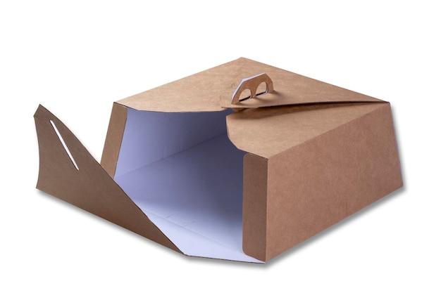 Kartonverpackung zum transport von kuchen