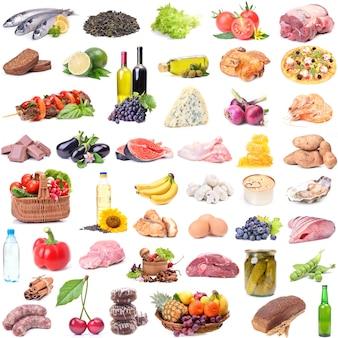 Katalog der unterschiedlichsten lebensmittel