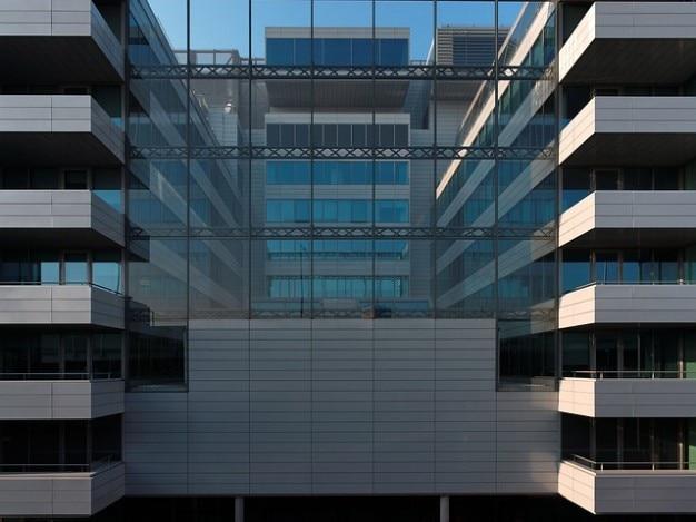 Katamaran fenstern moderne architektur haus