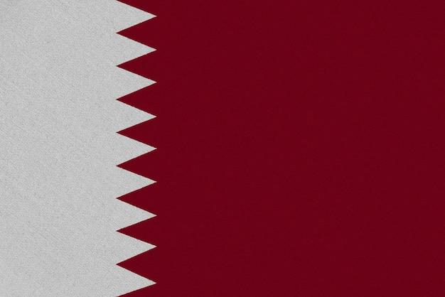 Katar stoffflagge