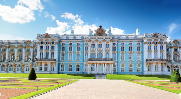 Katharinenpalastsaal in zarskoje selo (puschkin), russland