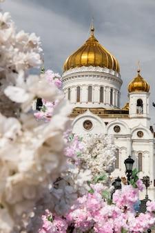 Kathedrale christi des erlösers in moskau in russland