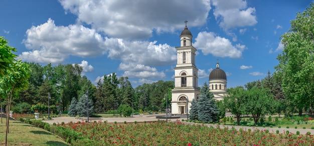 Kathedrale der geburt christi in chisinau, moldau Premium Fotos