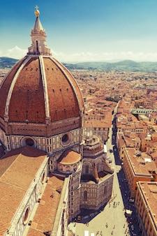 Kathedrale der heiliger maria der blume in florenz, italien.