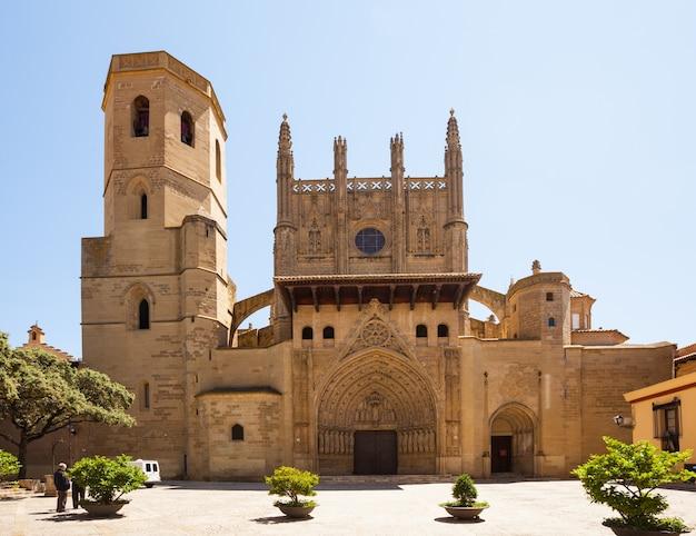 Kathedrale der verklärung des herrn in huesca