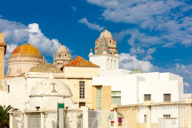 Kathedrale in cadiz, andalusien, spanien