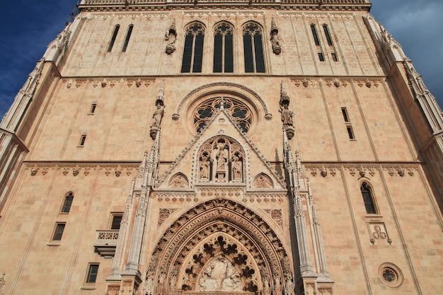 Kathedrale mariä himmelfahrt, zagreb, kroatien
