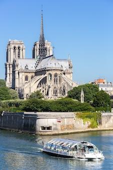 Kathedrale notre dame paris mit kreuzfahrt