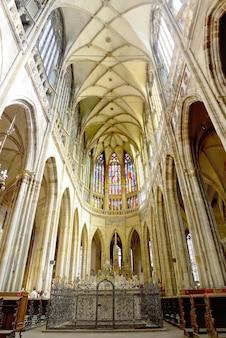 Kathedrale st. vitta vaclav und voitehainnenansicht