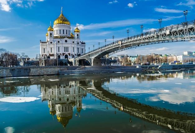 Kathedrale von christ der retter, moskau, russland