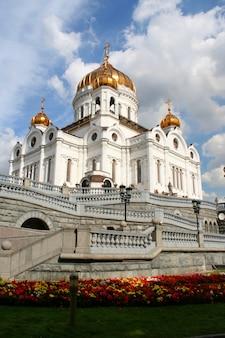Kathedrale von christus dem erlöser in moskau