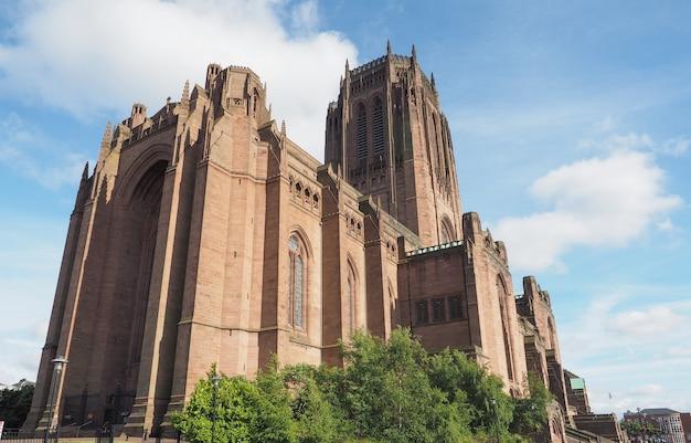 Kathedrale von liverpool in liverpool