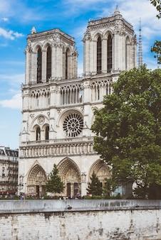 Kathedrale von notre dame in paris