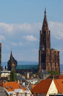 Kathedrale von strassburg, frankreich, fran