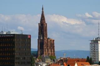 Kathedrale von strassburg, frankreich