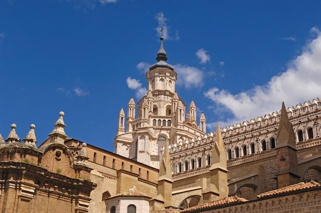 Kathedrale von tarazona, provinz saragossa, aragonien, spanien