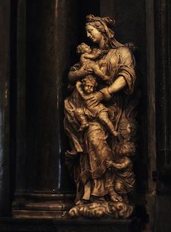 Katholische kathedrale, prag, reisefoto