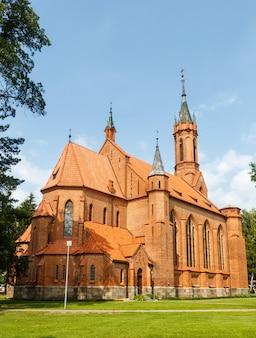 Katholische kirche der heiligen jungfrau maria.